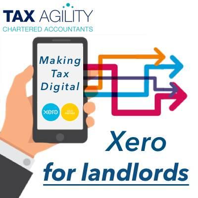 Xero MTD for landlords